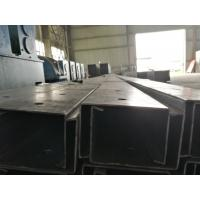 Black / Galvanized Steel Channel Easy Installation With ISO 9001 Certification