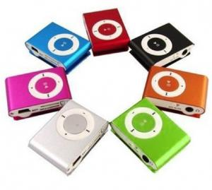 China Colorful Clip MP3 Multimedia Player With Micro SD / TF Card, U Disk Functions on sale