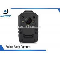Digital Video Security Body Worn Police Cameras , Night Vision Body Camera With WiFi GPS