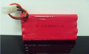 China Nicd Battery 9.6v Aa 800mah Rechargeable Battery For Cell Phones on sale