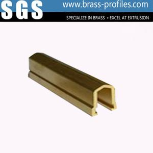China Copper Window Frame Shape Brass Profile Extruded Manufacturer on sale