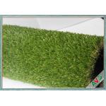 Cor verde exterior que ajardina o relvado artificial de vista agradável da grama da grama sintética