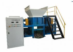 China Two Shaft Copper Wire Shredder / Steel Scrap Shredder Machine 650*2kw Reducer on sale