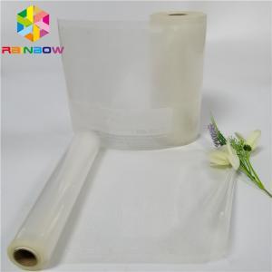 China Laminated Heat Seal Food Packaging Films Custom Printed Clear Plastic Vacuum Sealing on sale