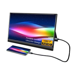 China LCD USB 300cd/M2 1W 16 Inch Touchscreen Monitor 1920x1080 on sale
