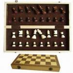 木のチェス、手段38 x 37 x 5cm