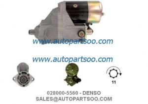 China 028000-5500 028000-5560 - DENSO Starter Motor 12V 2.5KW 11T MOTORES DE ARRANQUE on sale