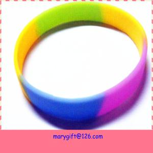 China supply hot item promotion gift Diy silicone bracelet on sale