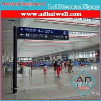 China Custom Free Standing Indoor Signage for Airport or Rail Station on sale