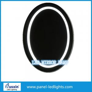 Quality Circle Cosmetic round lighted makeup mirror,Smart Touch Switch bathroom Mirror for sale