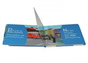 China Paperback Coloring Childrens Book Printing  , Commercial printing services on sale