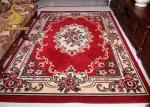 Desgaste persa anudado mano persa cómoda de las mantas, rojo y azul de la manta - resistente