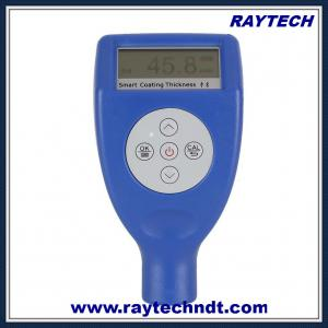 China 0-1500µm Coating Thickness Gauge, USB Bluetooth Paint Thickness Meter, NDT Tester RTG-8102 on sale