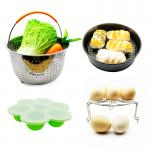 Feel free to combine 10 Piece Accessories Kits Compatible Springform Pan, Egg Rack, Egg Bites Mold, Oven Mitts, Bowl Clip