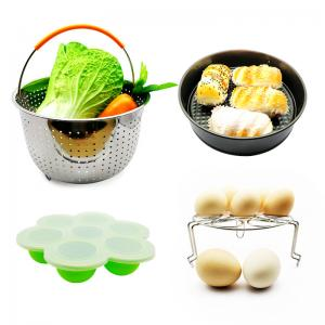 China Feel free to combine 10 Piece Accessories Kits Compatible Springform Pan, Egg Rack, Egg Bites Mold, Oven Mitts, Bowl Clip on sale