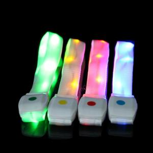 China Remote Controlled Multi-Color LED Flashing Bracelet For Concert, Carnivals, Sporting Events, Party, Night Club on sale