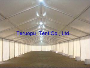 China Double Trussed PVC Storage Tents Permanent Use Large Industrial Canopy Tent on sale