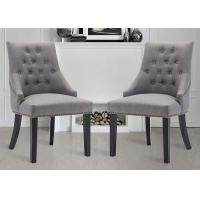 China Modern Design Sillas De Dise Upholstered Dining Chairs For Hotel on sale