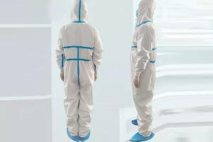China Unisex Disposable Protective Coverall , Disposable Body Suit For Factory Staff on sale