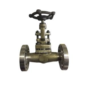 China Bidirectional Forged Steel Wedge Gate Valve Good Manufacturing Technology on sale