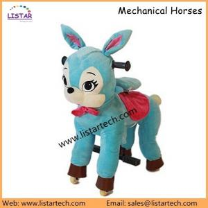 China Ride on Horse Toy Pony, Mechanical Walking Horse for Sale, Little Pony Cycle for Kids on sale