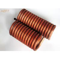 China Flexible Fin Coil Heat Exchanger in Coaxial Evaporators , Fan Coil Unit on sale
