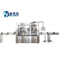 China Small Scale Soda Glass Bottle Filling Machine / Water Bottling Equipment on sale