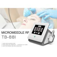 Fractional Microneedle RF Skin Tightening Wrinkle Removal Machine For Face / Body