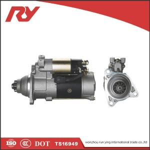 China Mining Truck Engine Starter Motor TS16949 Sliding Armature Driving Type 7.5Kw Power M009T80771 ME049315 6D22T 6D24 on sale
