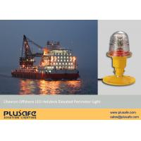 Flange Base Mounted Cap 437 Helideck Lighting Green LED Chevron Offshore