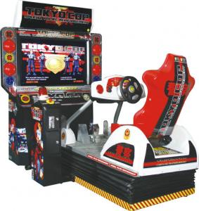 4d driving car racing arcade game machine tokyo cop with sonic mr