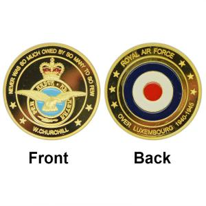China 2015 Hot New 24K Gold Plated ARMY Coin Wholesale Royal Air Force Commemorative Custom Coin Fancy Challenge Coin on sale