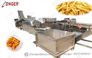 China 1000KG/H Fully Automatic Potato Chips Making Machine Projects on sale