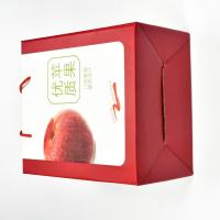 China High Quality Customized Corrugated Board Apple Packing Box Fruit Box on sale