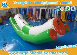China PVC Tarpaulin Toddler Inflatable Teeter Totter Toys For Water Sport Games on sale
