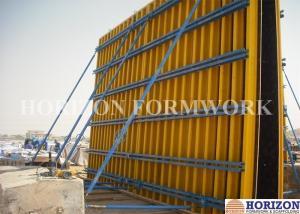 Adjustable Wall Formwork Systems Panel Strut , Flexible Concrete