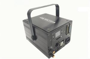 China High Speed Beam Laser Light , 1w Rgb Animation Laser Light With Wide Scan Angle on sale