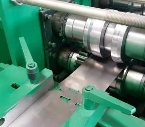 China Good quality galvanized steel storage rack shelf roll forming machine upright beam frame making machine for sale on sale