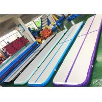 EN71 Air Track Tumble Track For Gymnastics 5m 6m 8m 10m 12m Custom Size