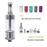 Super Mini E Cig Atomizer Clear Glass Tanks Protank with Bottom Coil