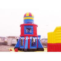 Customize 10m Tall Rocket Inflatable Jumping Castle Bouncer Tower Outdoor Play