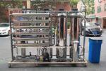 Automatic Control Valve Water Softener Machine 1.5TPH  Quartz Sand / Active Carbon Filter