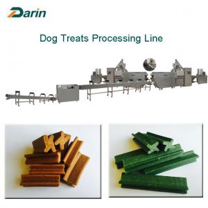 China Automatic Single Screw Extruder Touch Screen for Dog Chewing Gum Treats on sale