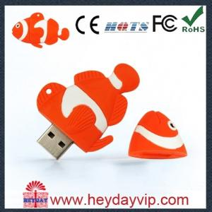 China Cute PVC Cartoon USB Flash Drive 1GB on sale