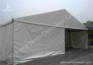 China Hard Extruded Stainless Aluminium Frame Marquee 10m Wide Length Extended on sale