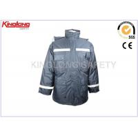 China Custom Made Men Reflective Winter Workwear Nylon Windbreaker Jacket on sale