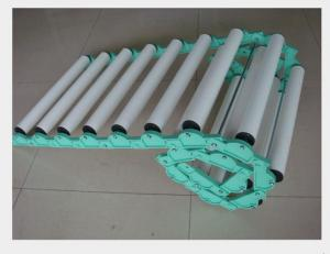 China Coated Industrial Rubber Rollers , Small Diameter Pvc Conveyor Rollers OEM on sale