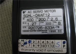 Yaskawa Electric SGML-04AF12 AC Servo MotorJapan 400 Watt 3000 RPM CNC Japan