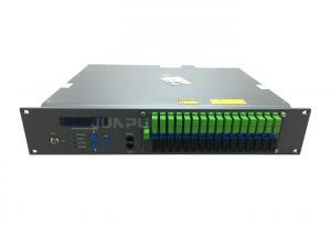 China Pon Edfa Wdm RF Input 32 Port 1550nm Optical Amplifier With JDSU Laser on sale