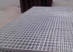 Walkway Galvanized Serrated Steel Grating Anti Slip Customized